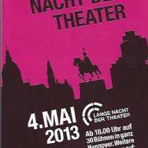 12. Lange Nacht der Theater // Preview: ORPHEUS HEARTBEATS (2013)