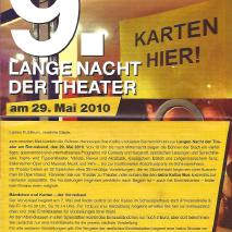 9. Lange Nacht der Theater // Hotel Many Welcome (2010)