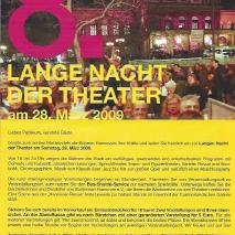 8. Lange Nacht der Theater // Himmel und Hölle (2015)