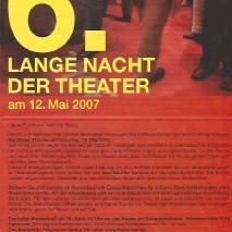 6. Lange Nacht der Theater // Stilleben in einen Graben und Felix Landerer: So weit.... (2007)