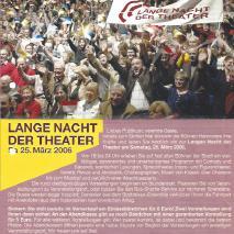 5. Lange Nacht der Theater  // Die Suche nach dem heiligen Leib - Pasolini Projekt (2006)
