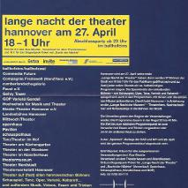 1. Lange Nacht der Theater // Lovers & Killers  (2002)