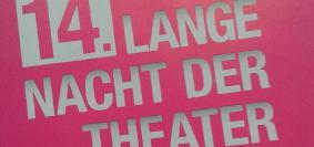 """Foto aus der Produktion """"14. Lange Nacht der Theater"""""""