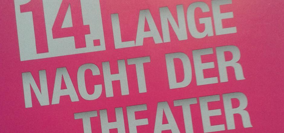 14. Lange Nacht der Theater